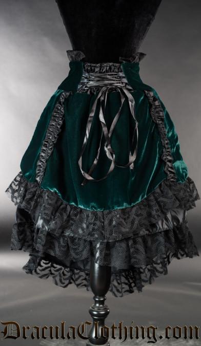 Green Velvet EGL Skirt