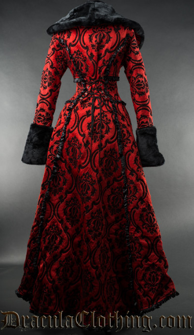Crimson Evil Queen Coat