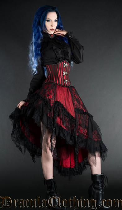 Rock Red Gothic Witch