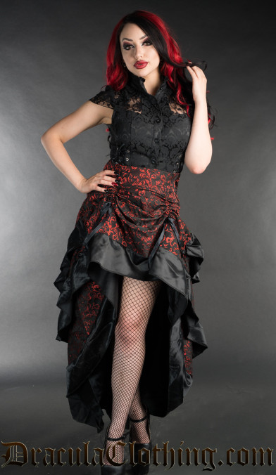 Ruby Layer Bustle Skirt