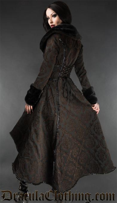 Steampunk Evil Queen Coat