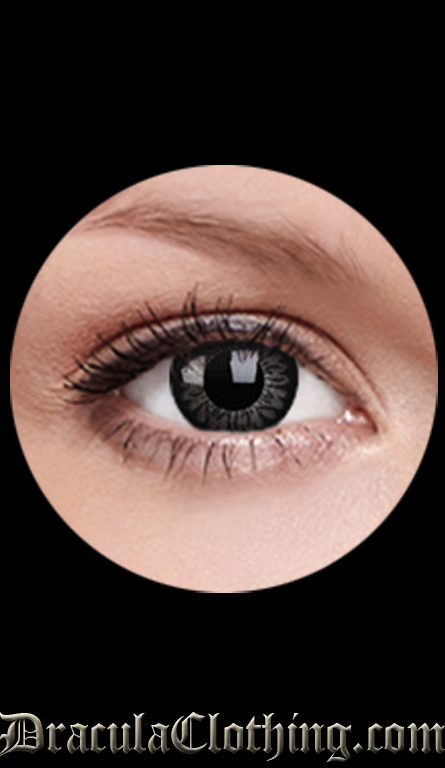 Big Eye Contact Lenses, Dolly Black