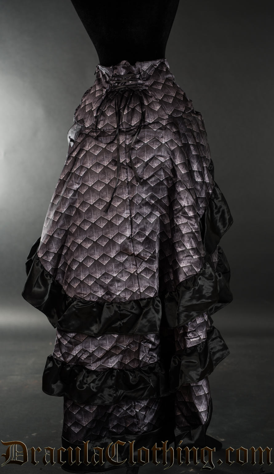 Dragon Scale Layer Bustle Skirt