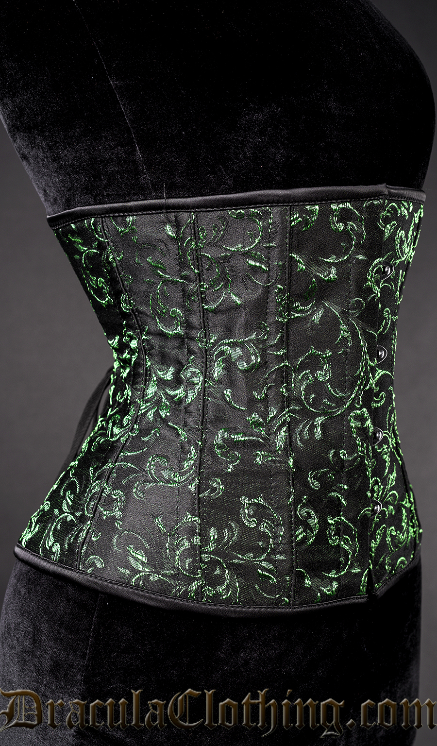 Emerald Underbust Corset