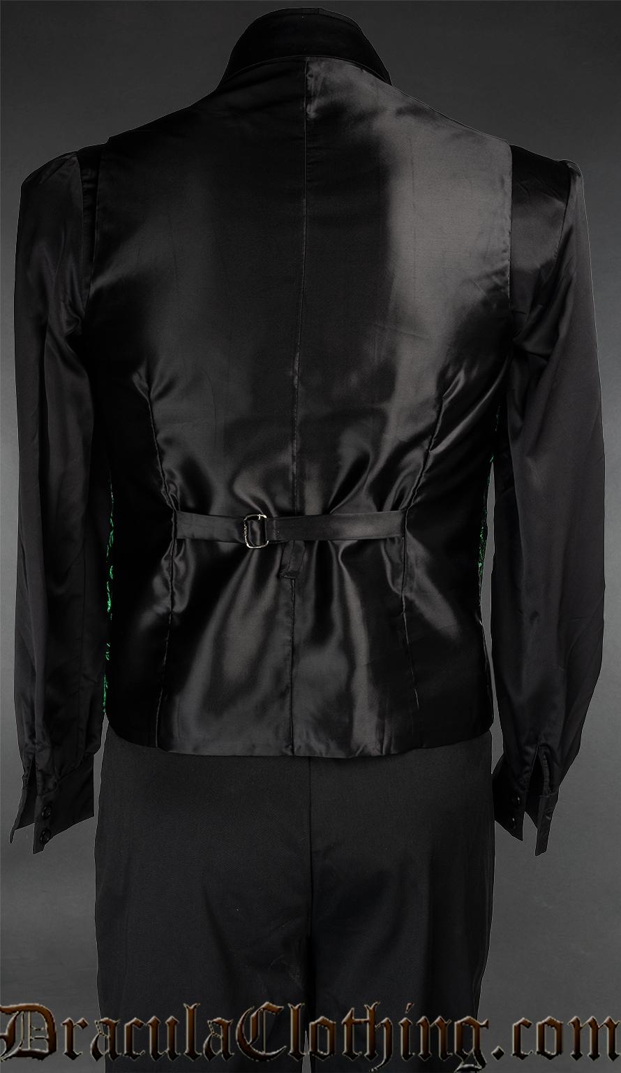 Emerald Groom Vest