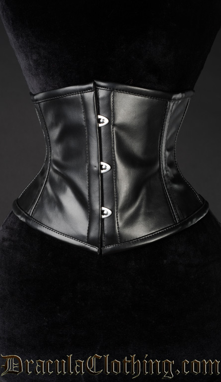 Faux Leather Waist Cincher
