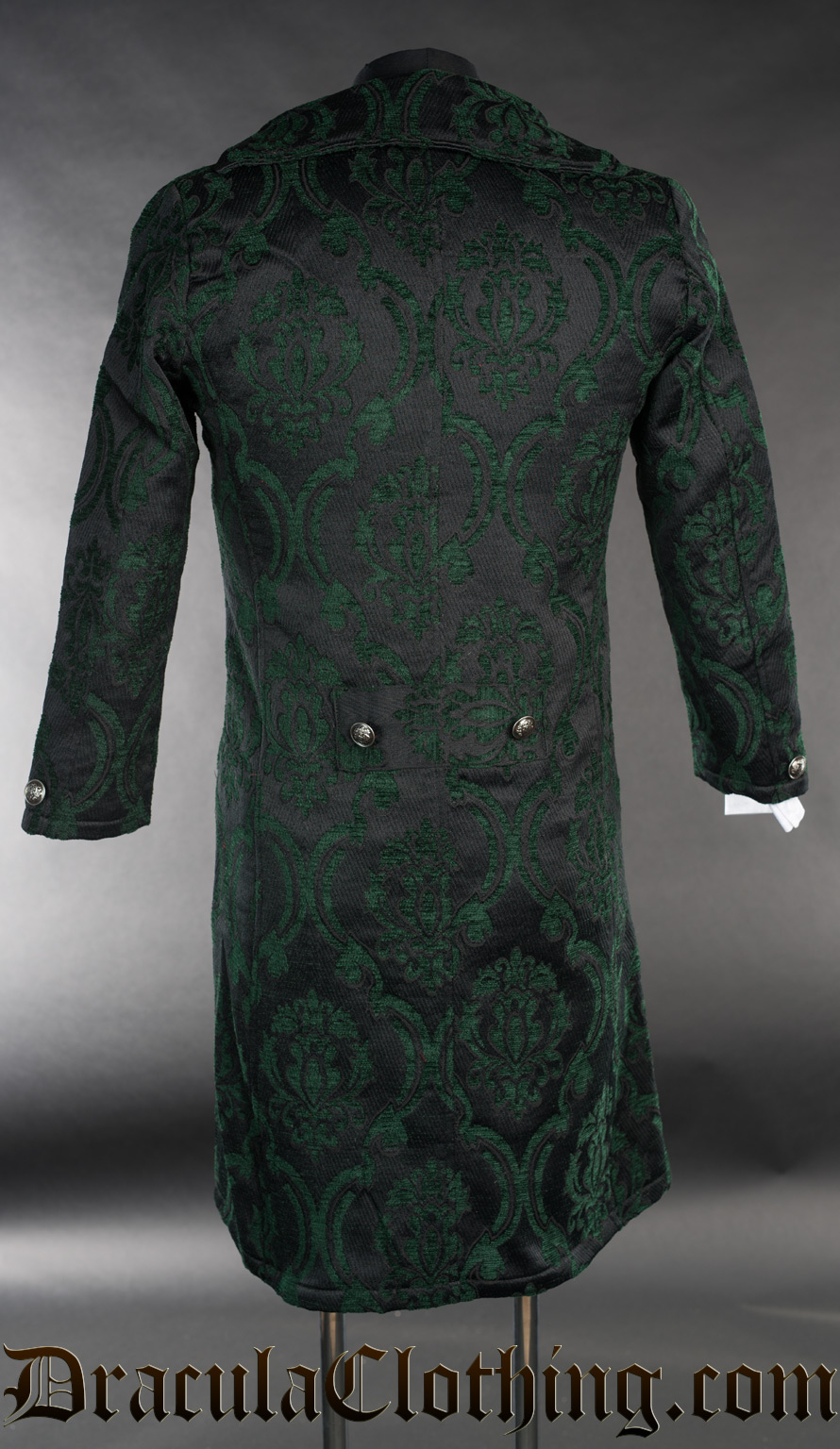 Green Brocade Tailcoat