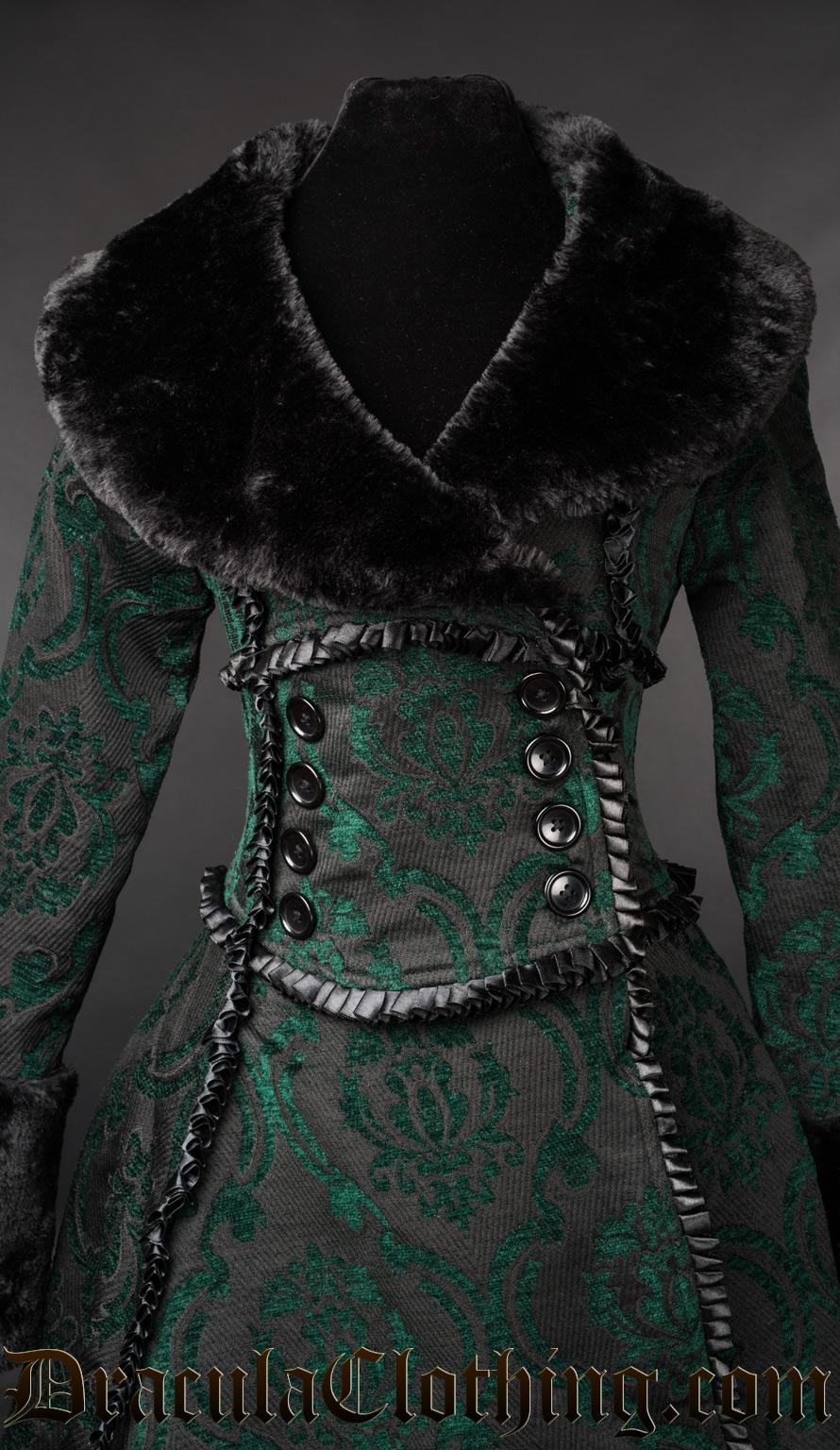 Green Evil Queen Coat