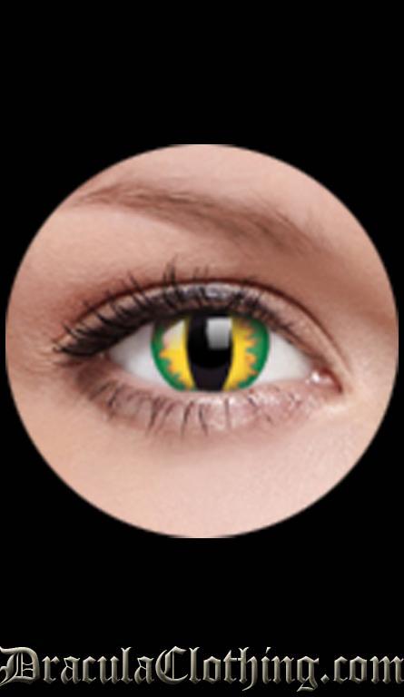 Green Dragon Contact Lenses