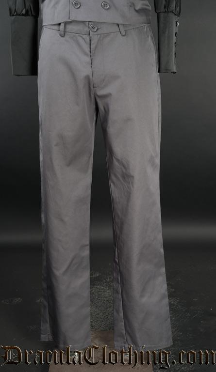 Grey Dracula Pants