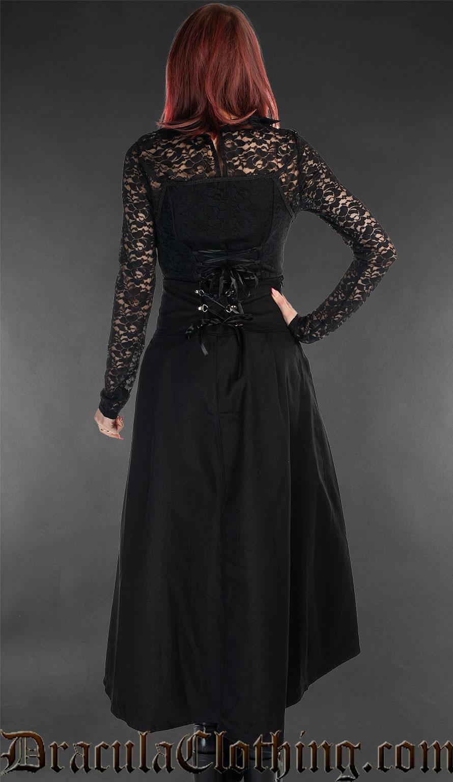 High Waist Cotton Skirt