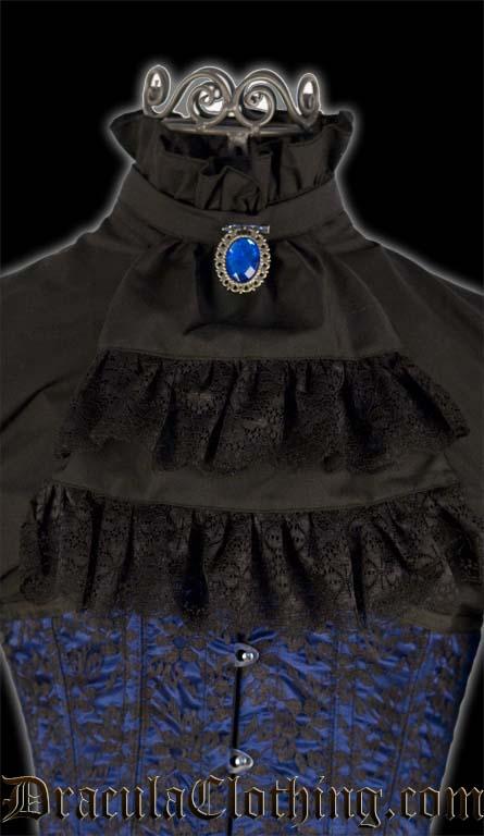 Black Cravat Blouse