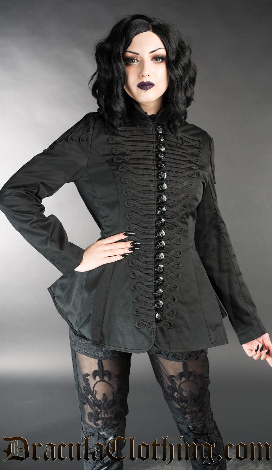 Ladies Military Jacket