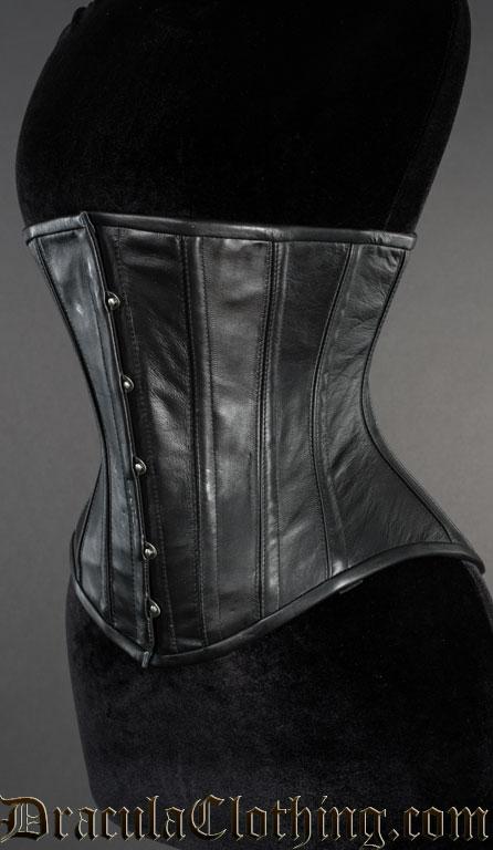 1918 Leather Underbust Corset