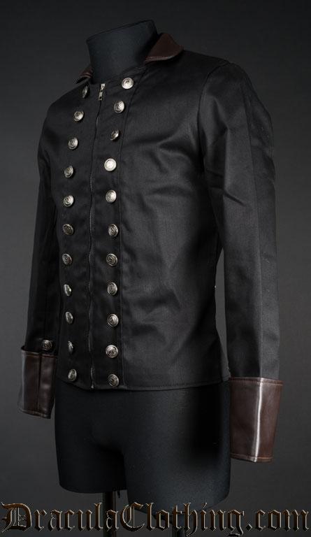 Steampunk Military Jacket-5687