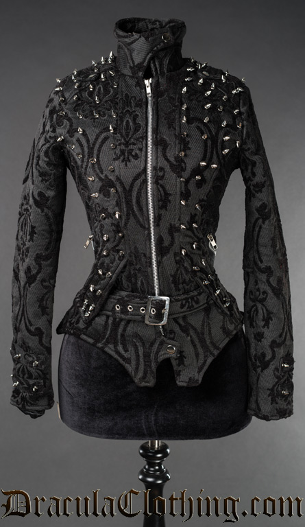 neo victorian spiked jacket