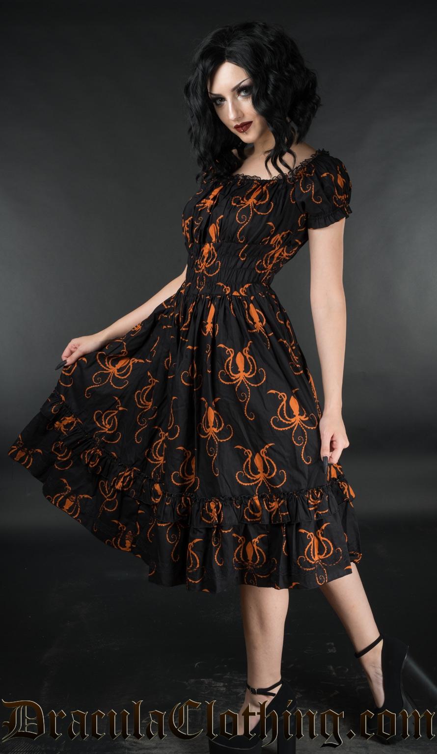 Octopus Gothabilly Dress
