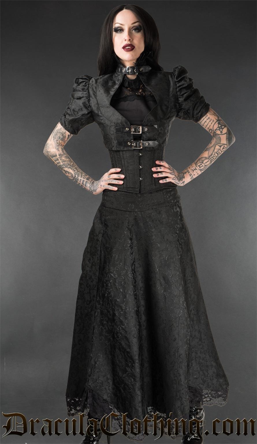 Onyx Lace Skirt