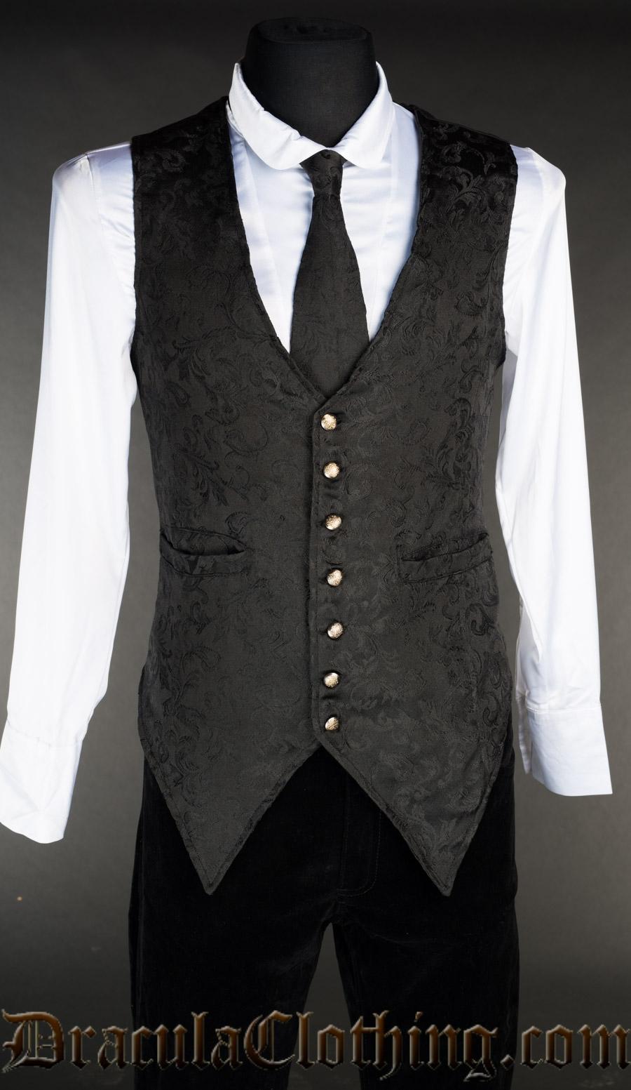 Onyx Long Vest