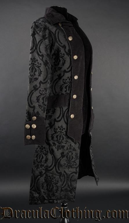 Black Pirate Princess Coat