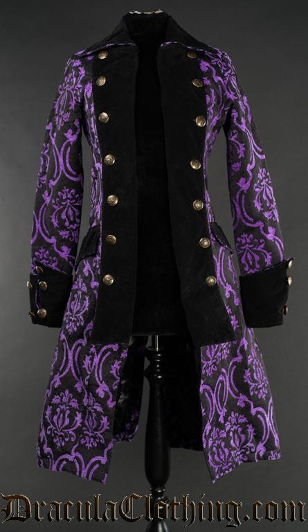 Purple Pirate Princess Coat