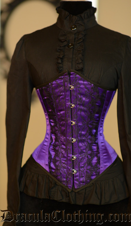Purple Lacie Corset