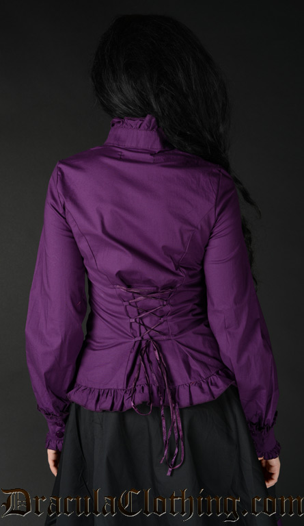 Purple Victorian Blouse