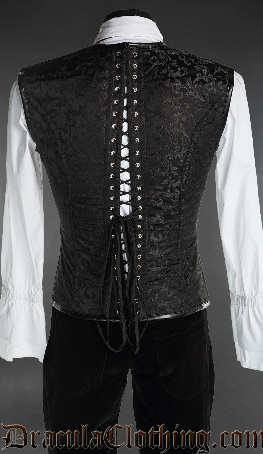 Black And Red Corset Vest