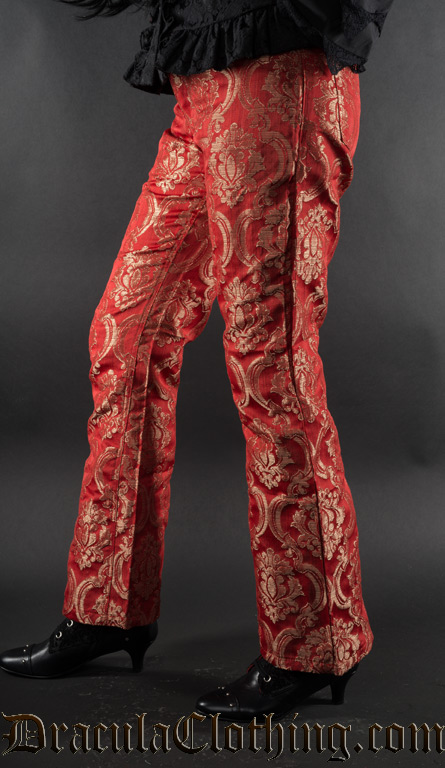 Red Royal Female Boots Pants