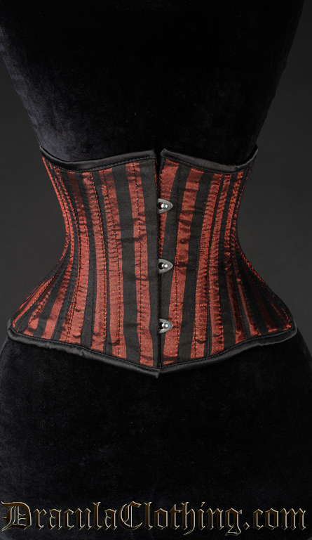 Red Striped Extreme Waist Cincher
