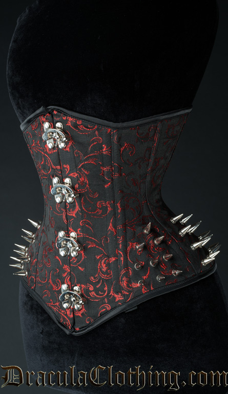 f96314c323c Ruby Extreme Waist Clasp Spike Corset