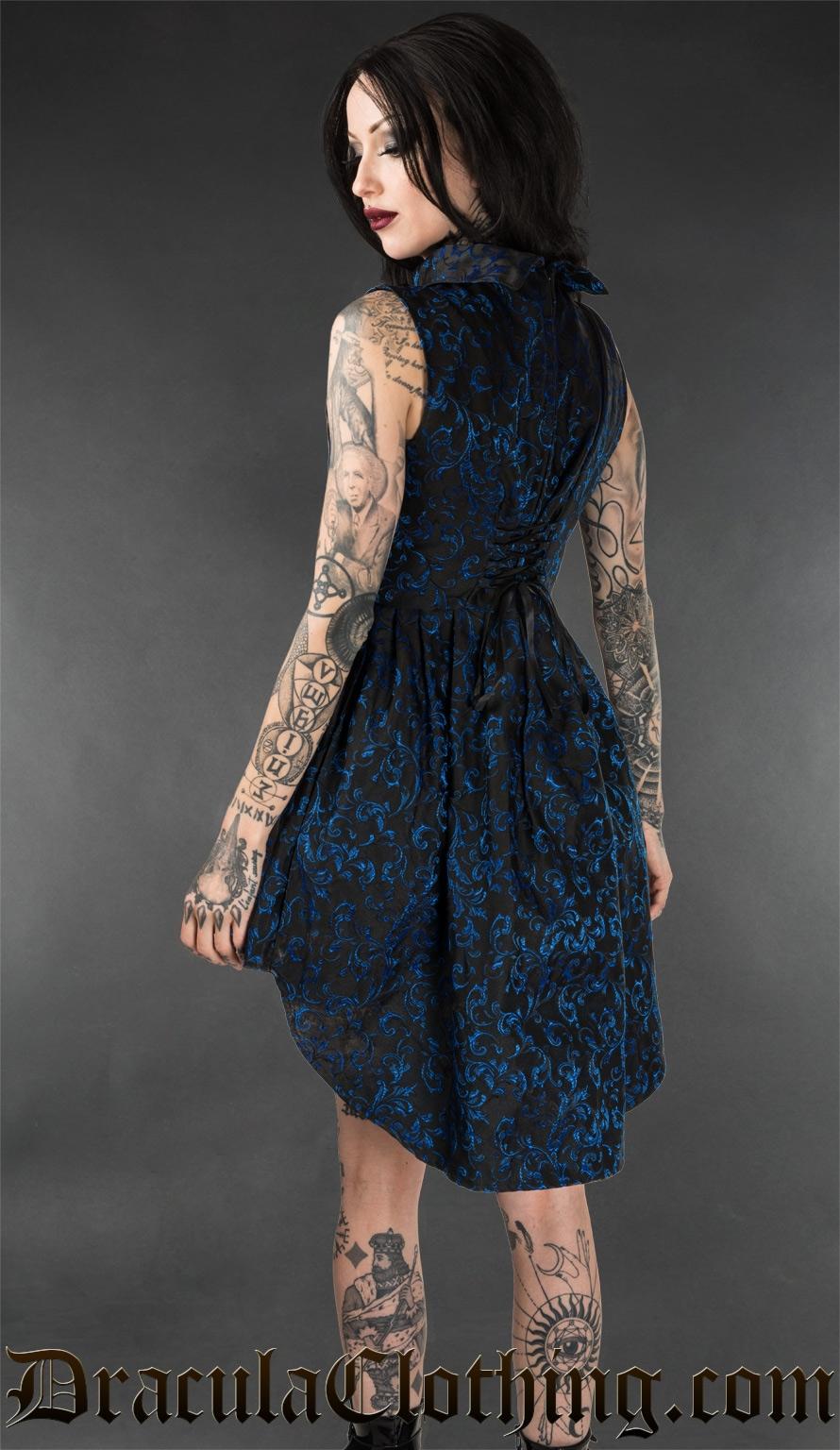 Sapphire Ankh Dress