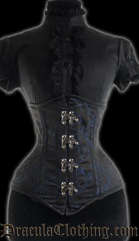 Sapphire Extreme Waist Clasp Corset