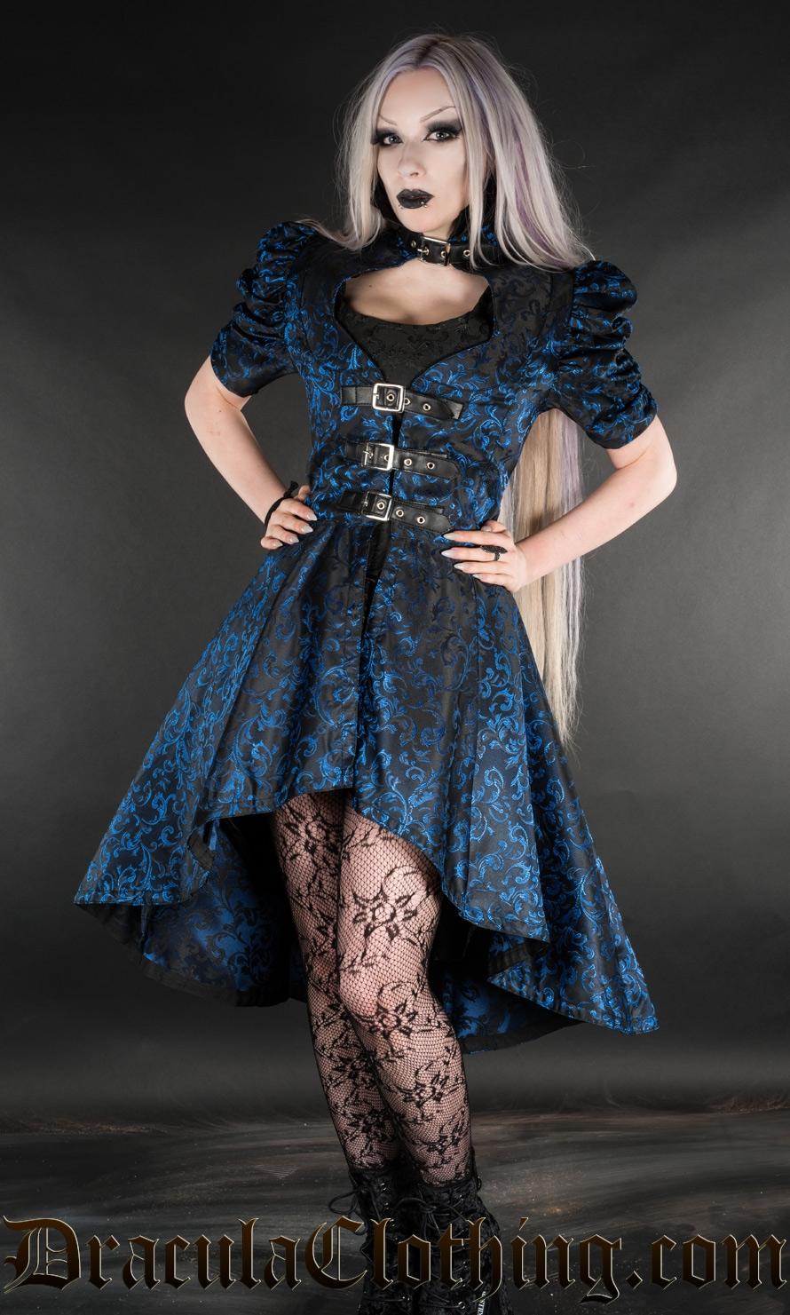 Sapphire Neo Victorian Coat - Coats And Jackets - Ladies -5395