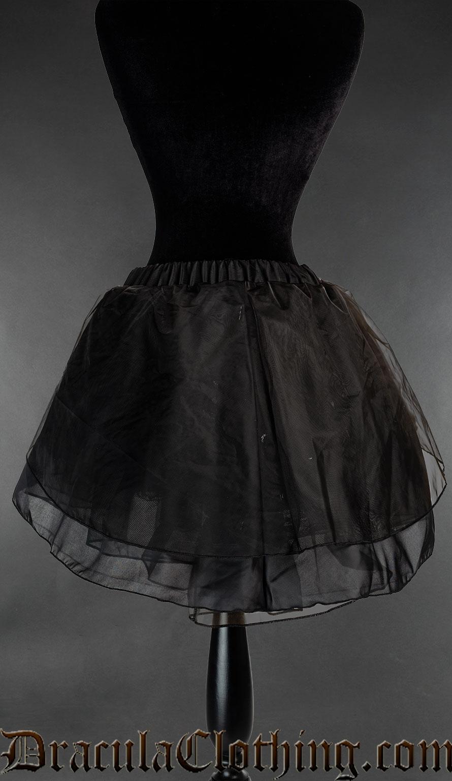 Satin Short Skirt