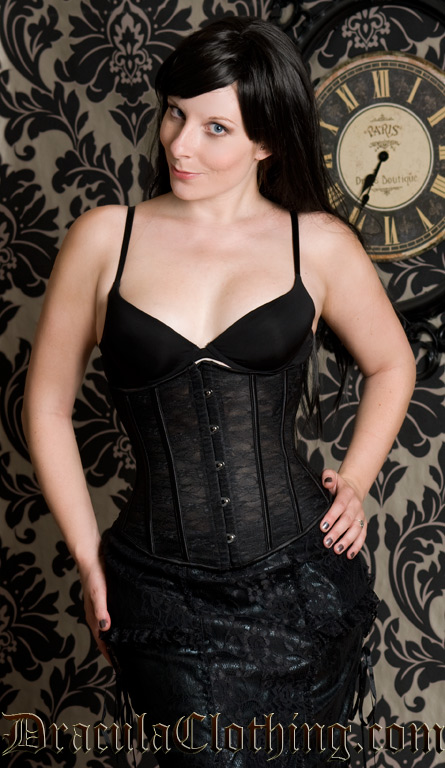See Through Corset