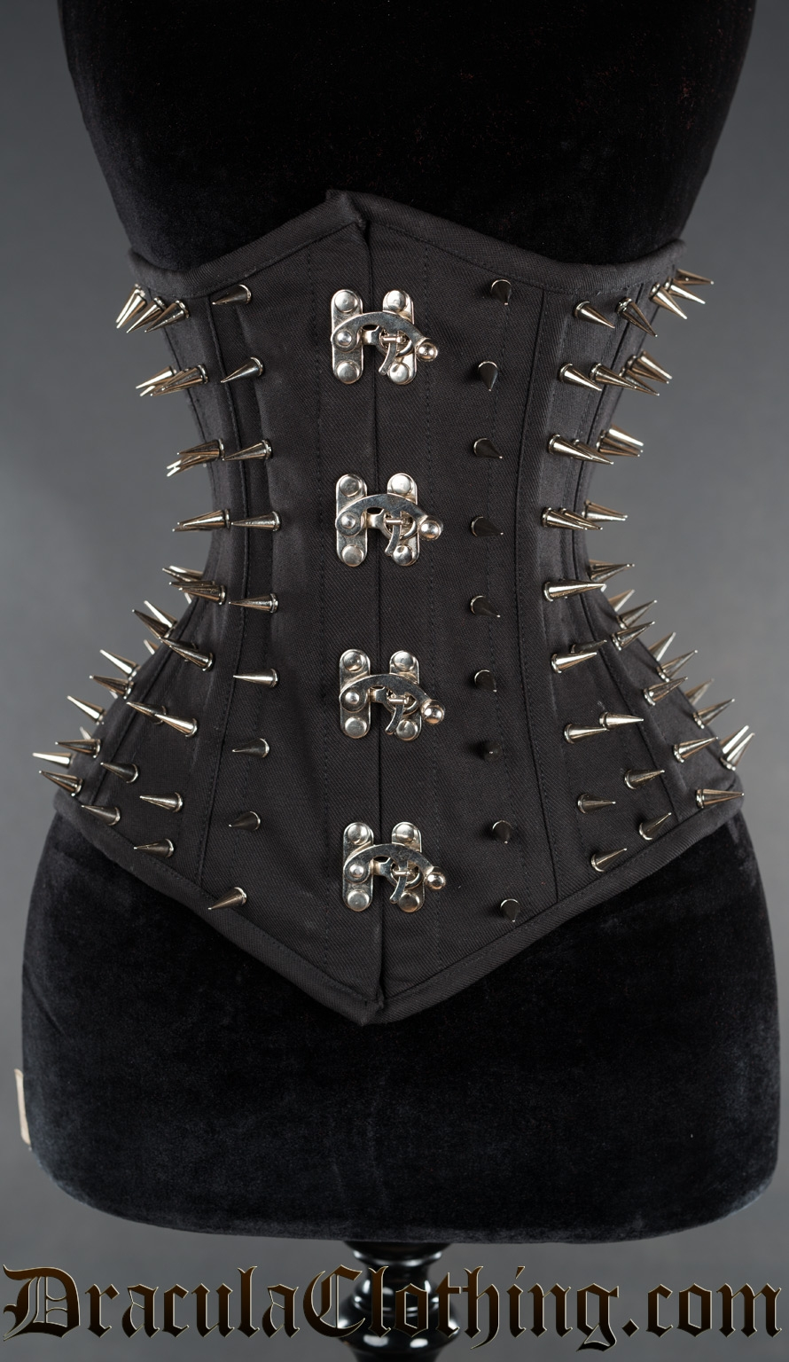 Silver Clasp Hedgehog Cotton Corset