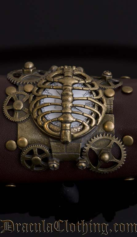 Steampunk Skeleton Watch Prototype