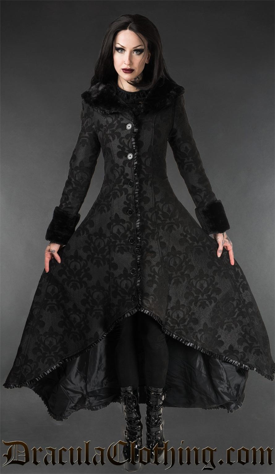 Skull Brocade Evil Princess Coat