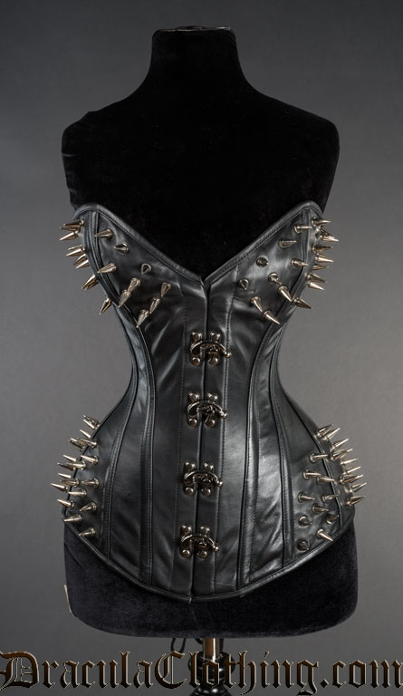 Spiked Bust Clasp Corset