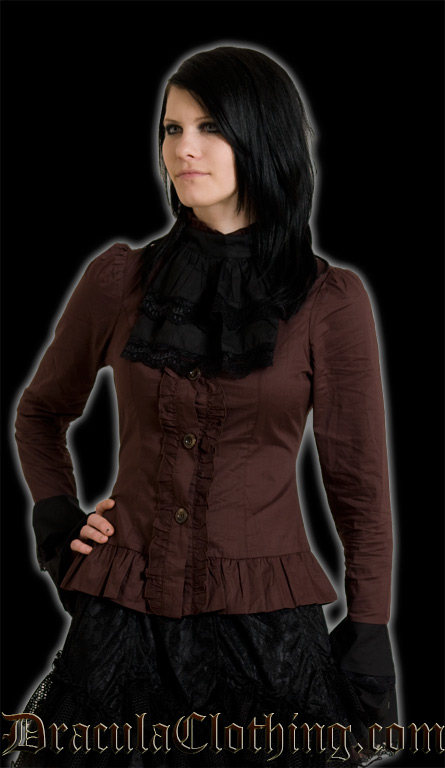 Steampunk Cravat Blouse
