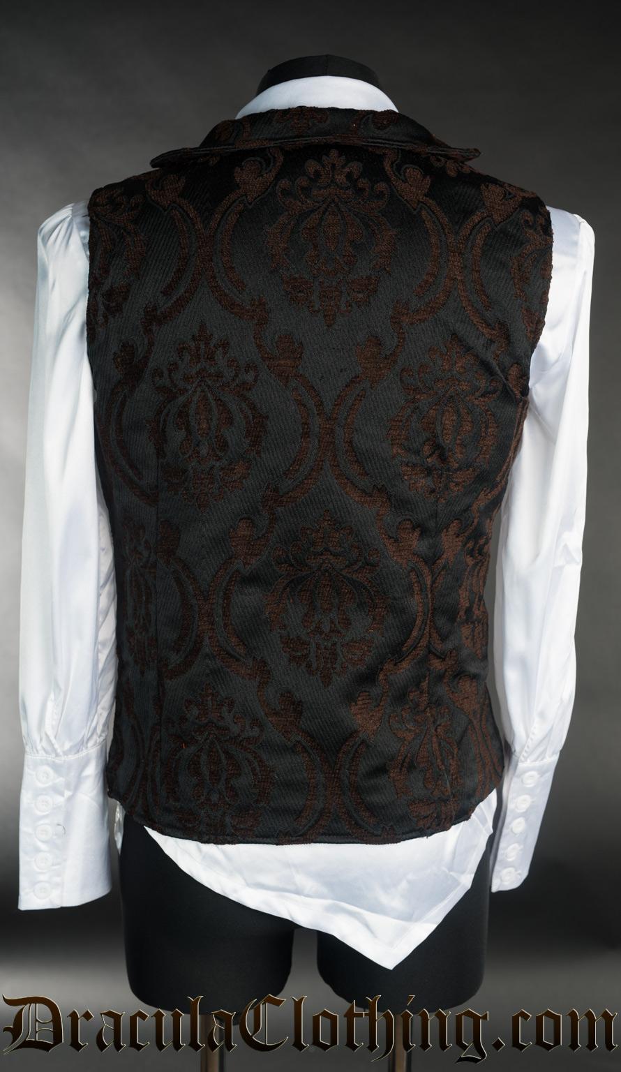Steampunk Double Buttoned Vest