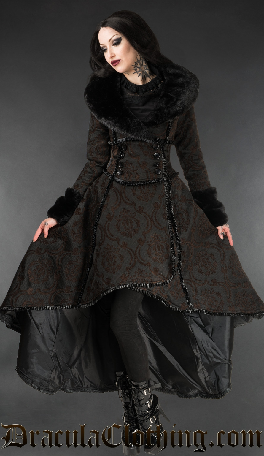 steampunk evil queen coat. Black Bedroom Furniture Sets. Home Design Ideas
