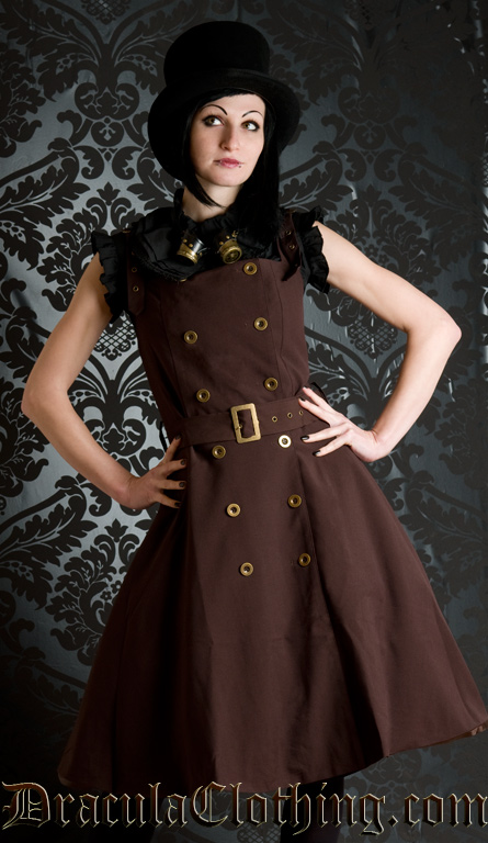Military Steampunk Dress