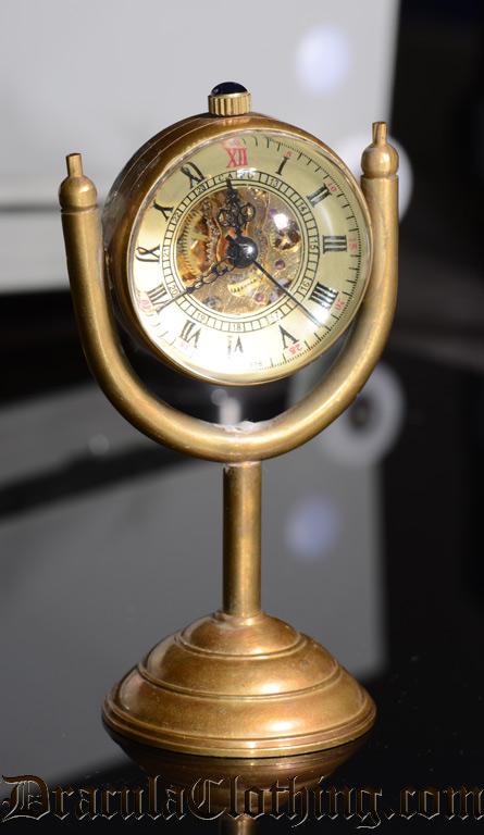 Steampunk Pendulum Table Watch