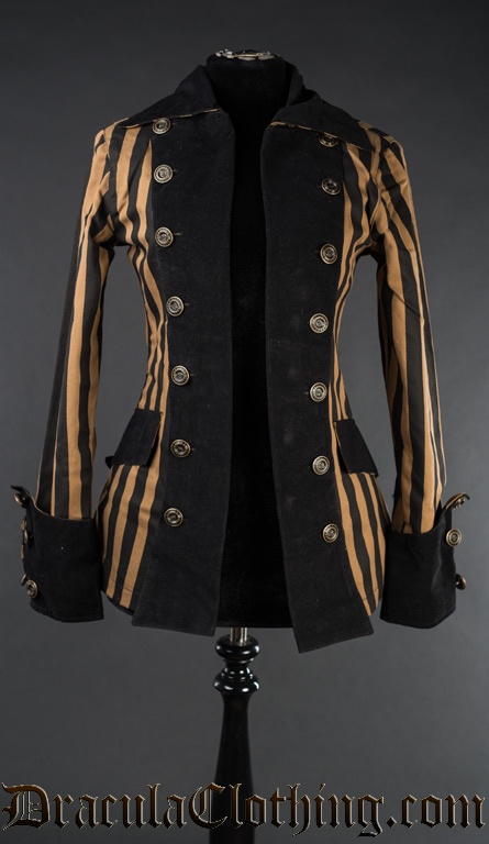Steampunk Piratess Jacket