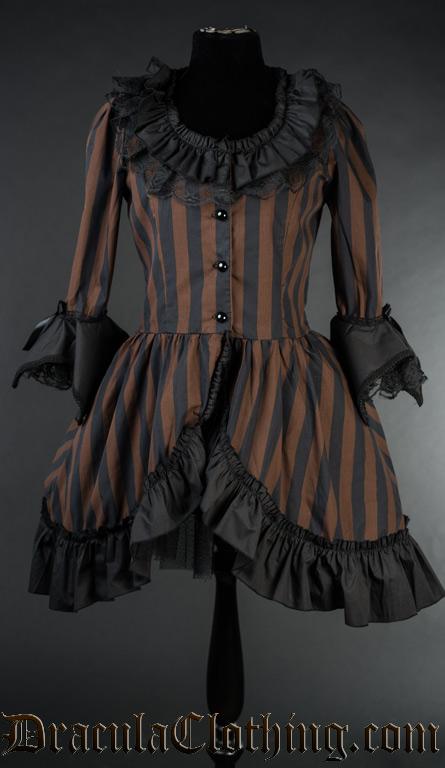 Steampunk Queen Dress