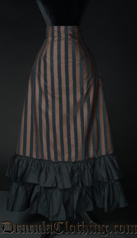 Steampunk Two Layer Bustle Skirt