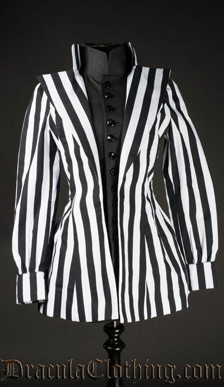 Striped Countess Jacket