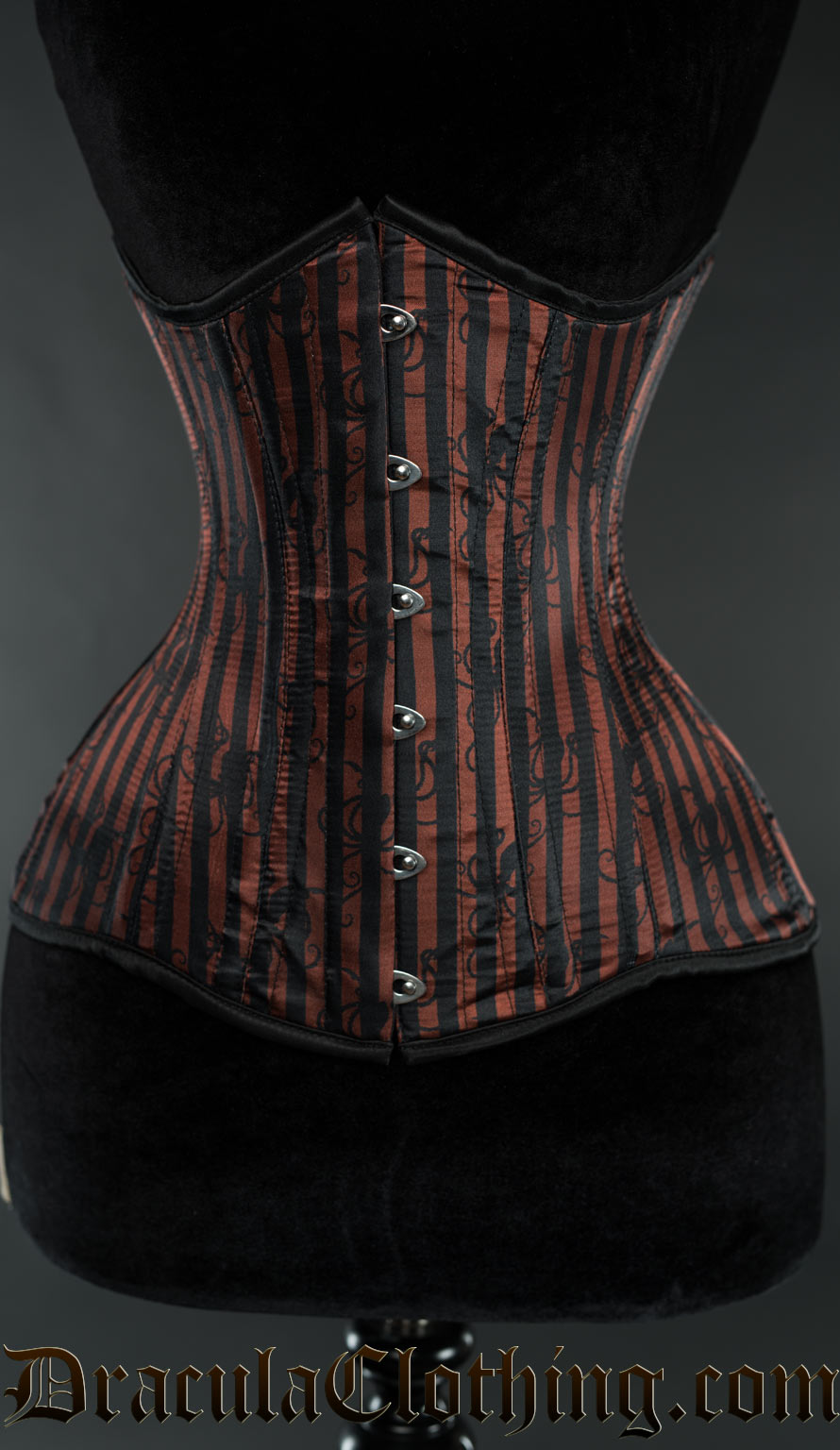 Striped Octopus Extreme Waist Corset